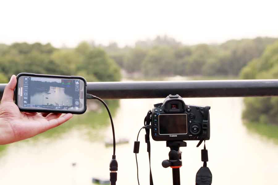 My Canon 5D M3 and the Samsung Galaxy Note 2