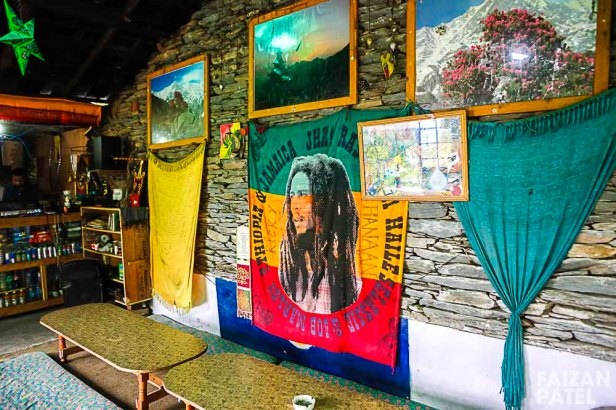 A few metres of trekking upwards takes you to Shiva Cafe.