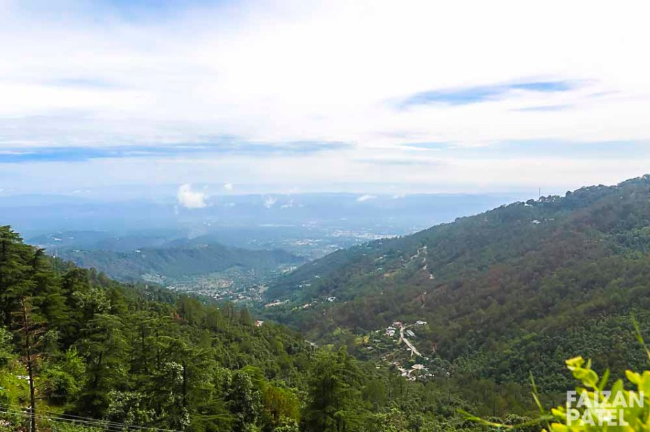 View of the Kangra Valley