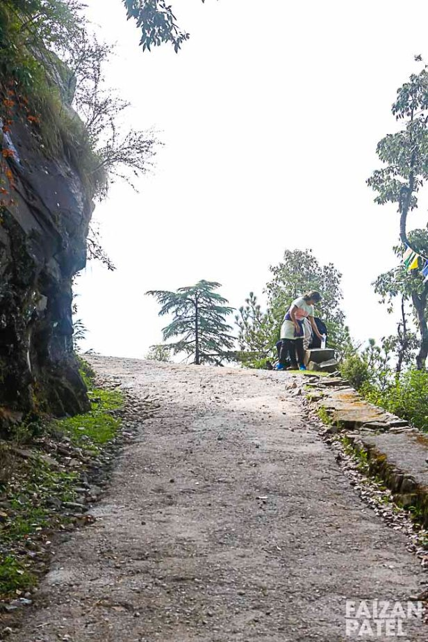On our way to Triund