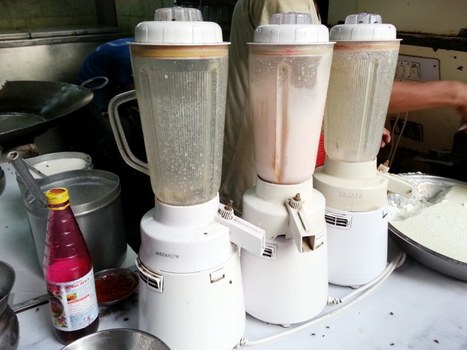 The Rohafza Milk Shake