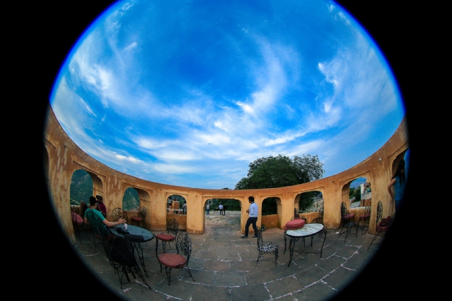 Going crazy with the Fish Eye lens