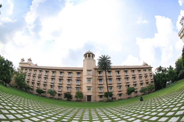 View of the Hotel Trident