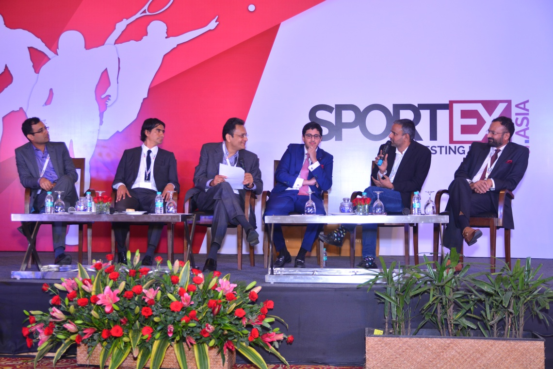 Nitin Kukreja - CEO Star sports, Marco Garces, Technical Director, Pachuca FC, Raghavendra Madhav, Chairman Sportex, Rohan Sharma, Owner Delhi Dynamos FC, Sunder Raman, CEO Relaince Spor