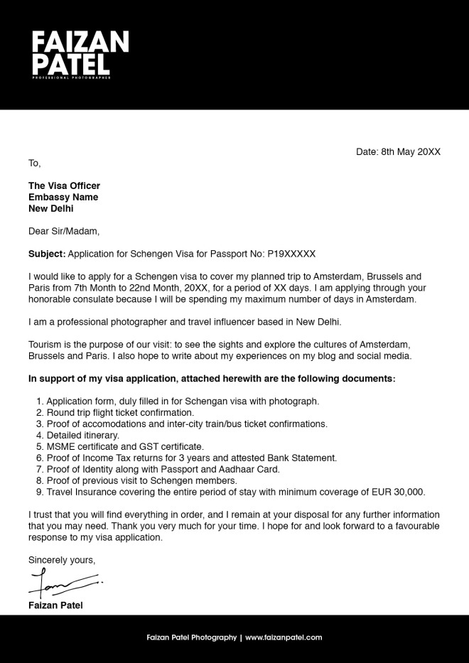 Sample Cover Letter for Freelancers